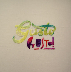 (via Gusto Gusto! Embroidery @Craftzine.com blog)