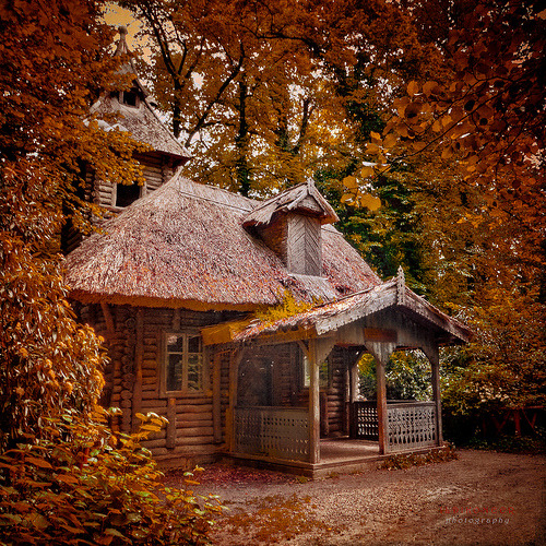 watermill in the Fall  (by azegbenbalvan)