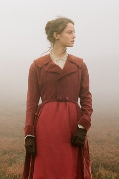 "glamourmagazine:  Wuthering Heights Trailer  ""If all else perished, and he remained, I should still continue to be; and if all else remained, and he were annihilated, the universe would turn to a mighty stranger."" - Emily Bronte Wuthering Heights"