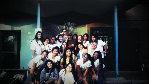 JFK Girls JV & V team <3 i love these girls (: