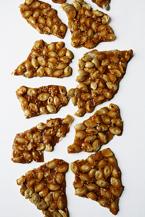 Pumpkin Sesame Seeds Brittle
