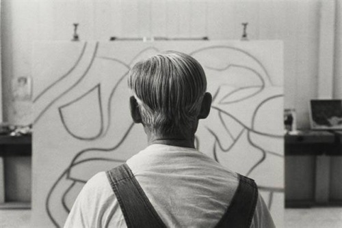 Portrait of Willem de Kooning - Duane Michals