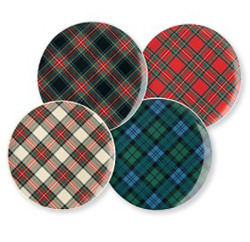 Plaid Plates from Haus Interior (link)