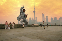 Morning Exercise in Shanghai, China (Featured by Marriott Hotel Int'l 2009, Shanghai Int'l Airport 2010 and the Chinese Xinhua News Agency 2011) by flickrgao on Flickr.