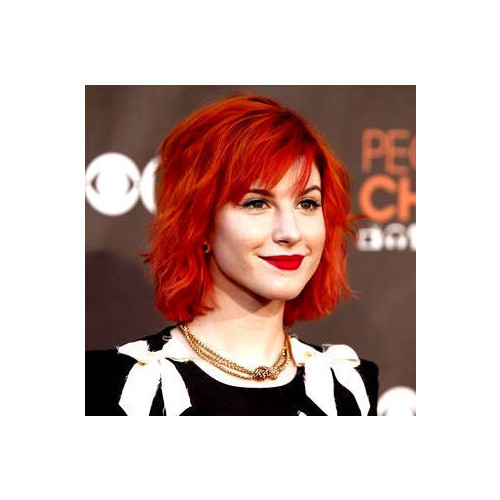 hayley williams icon   (clipped to polyvore.com)