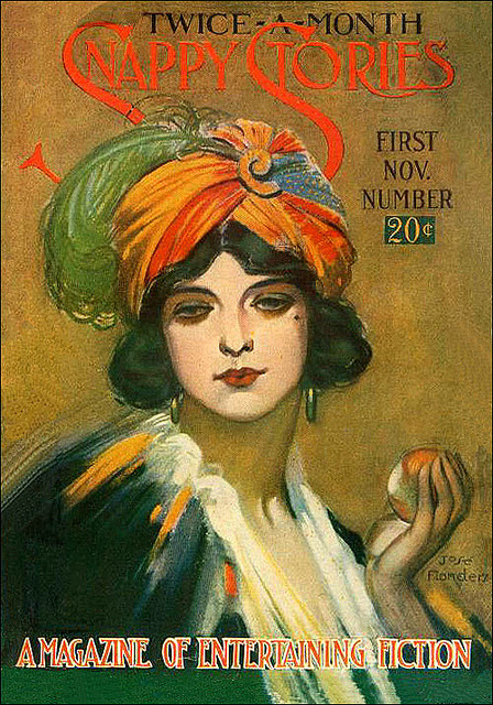 lockedvalise:  soyouthinkyoucansee  Snappy Stories 1918 a magazine of entertaining fiction