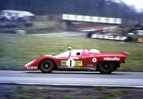 Ferrari 512M at the 1000 KM of Brands Hatch