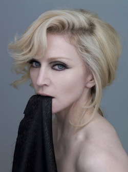 Hey Steven! Give me a call!What would Steven Klein images of Madonna look like if they had been retouched? Who knows? But… here's my take…