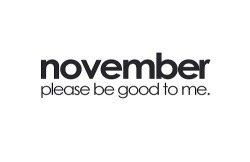 x0-feelthelove:  November .. At least TRY to be good ;)