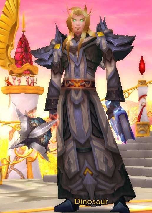 Name: DinosaurRealm: CaelClass: Shadow Priest.