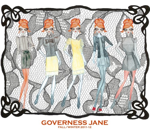Governess Jane by nuria*enjoy capsule collection