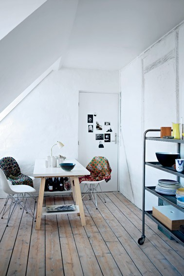 fromscandinaviawithlove:  A home in Denmark. Photo by Birgitta Drejer for Femina.