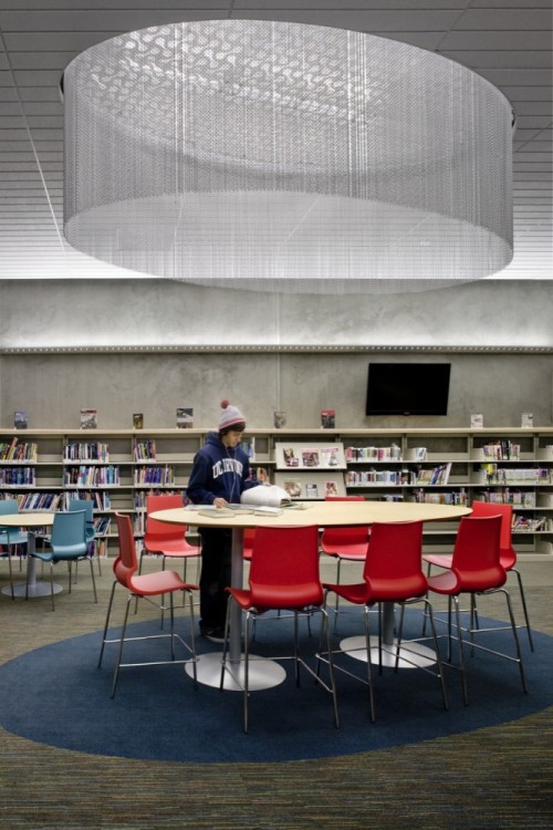 Valley-Hi North Laguna Library by Noll   Tam Architects (via ArchDaily)