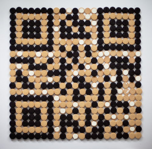 QR Code made from OREOS! (here)