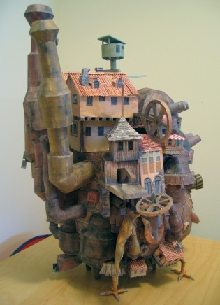 andrewberg:  (via Howl's Moving Castle Papercraft | strictlypaper)