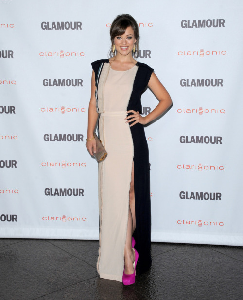 Olivia Wilde @ Glamour Reel Moments in Los Angeles - October 24, 2011.