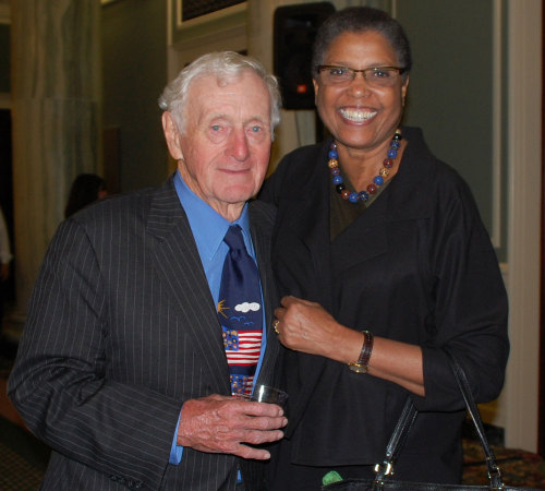 John Seigenthaler and Carole Watson, Deputy Chairman of the National Endowment for the Humanities