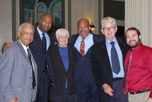 Freedom Riders at the DC headquarters of the American Bar Association