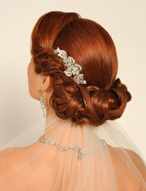 I want my hair to look like this for our wedding <3