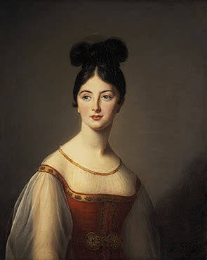 Portrait of a Woman by Élisabeth Vigeé-Lebrun, 1831