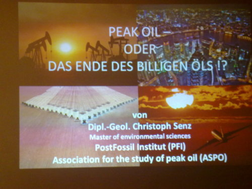 #PeakOil - oder - Das Ende des billigen Öls. sponsored by #Grüne+ #peakoil_sn   - Posted using Mobypicture.com