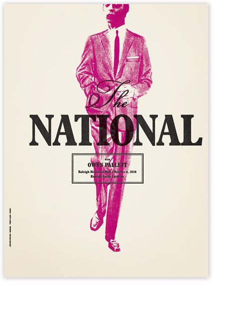 The National (via Posters : Alvin Diec)