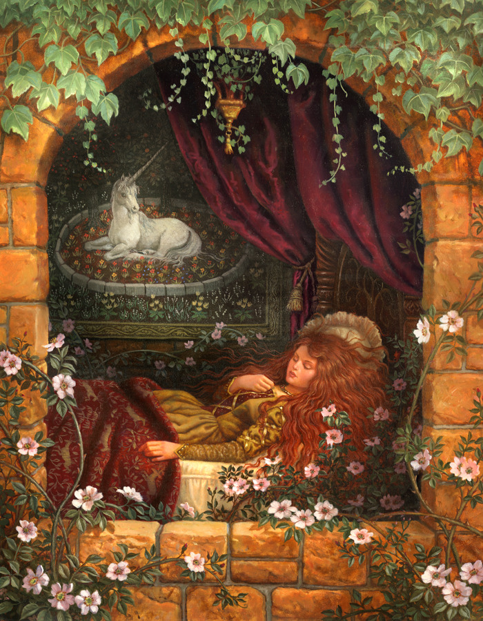"fairytalemood:  ""Enchantment"" by Ruth Sanderson"