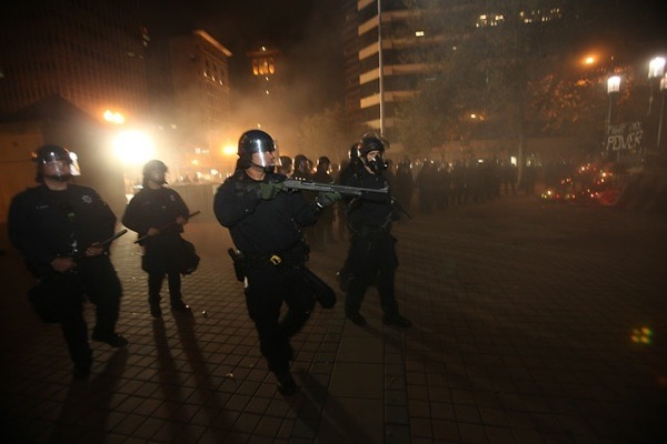 Photo from #OccupyOakland