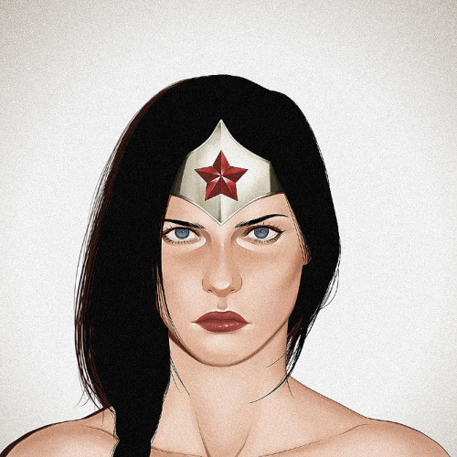 Diana. Print available on Society6.