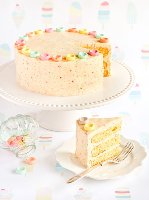 Recipe - Orange Cake with Fizzy Sherbet Icing (via raspberri cupcakes)