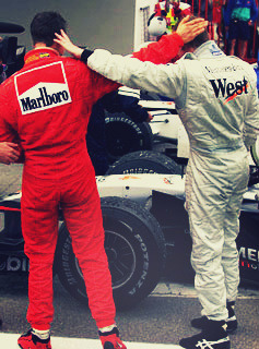 Mika and Michael were my introduction to Formula One as a kid. I was spoilt.