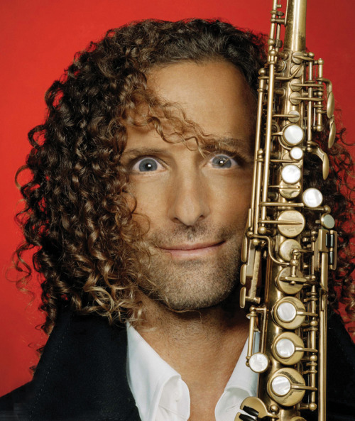 Kenny G with Michele Bachmann eyes.