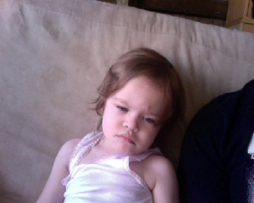 Princess Destructo : grumpy version.