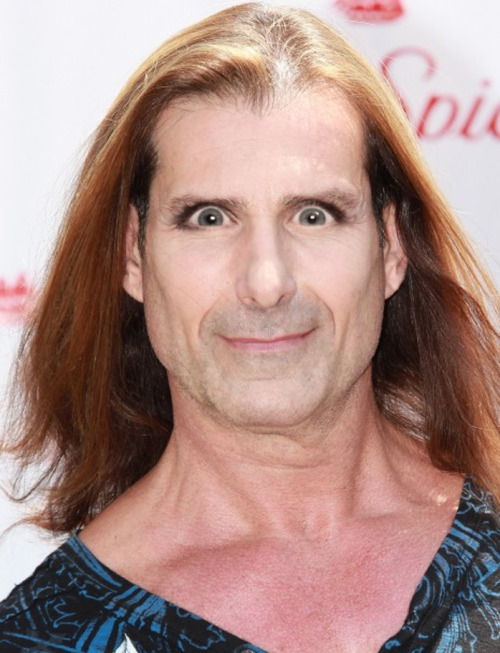 Fabio with Michele Bachmann eyes.