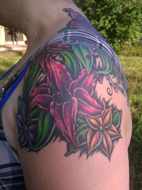 Artist: Ross Dockter Indelible Ink in Arvada Co.