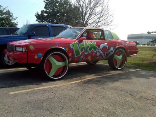 Cereal Pimped Ride That whip is trix'd out. Got your own funny picture? Submit it to Collegehumor here!