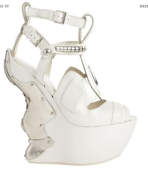 Alexander McQueen - White Armour
