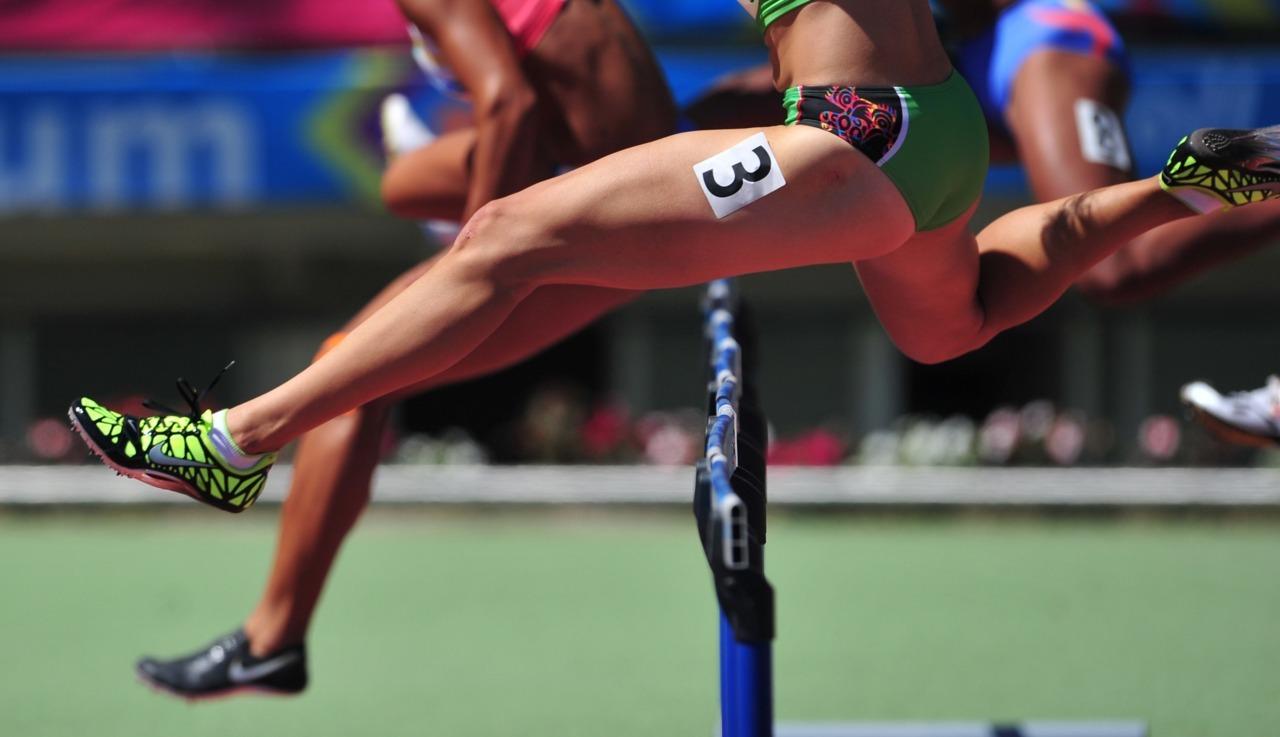Getting a leg upMexican heptathlon athlete Karla Schleske competes in the women's 100m hurdles discipline at the Pan American Games. Photo: MARTIN BERNETTI/AFP/Getty Images