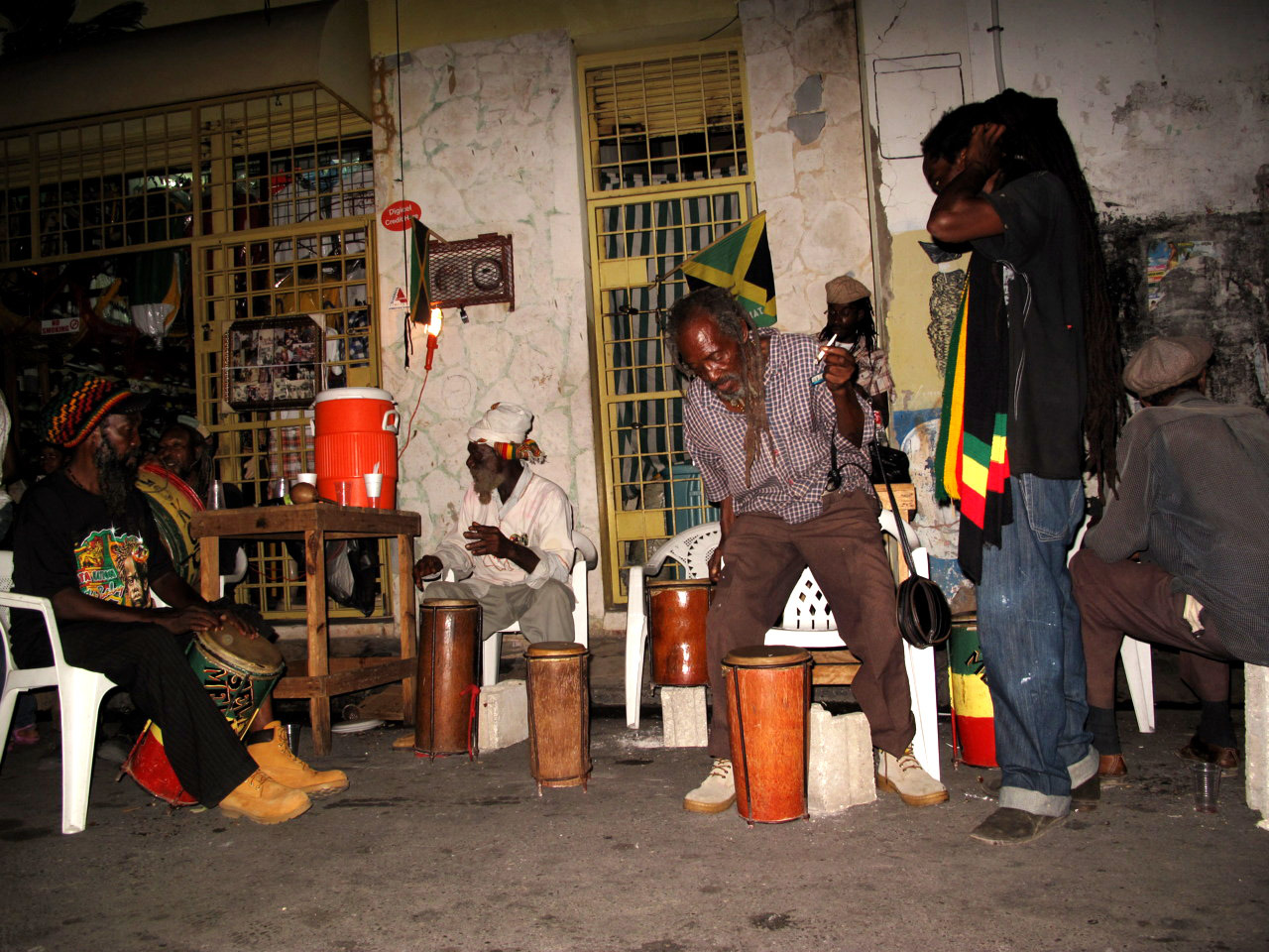 Nine Night for Ras Historian, Mark Lane, Kingston, Jamaica, 2010.