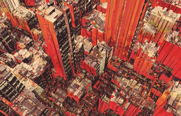 darksilenceinsuburbia:  Atelier Olschinsky. Cities and Plants. http://www.olschinsky.at/ http://www.behance.net/olschinsky
