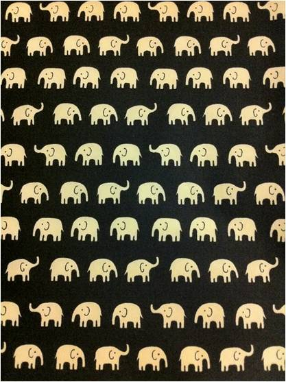 cannot wait to make something with this divine elephant print material from the gorgeous ditto fabrics in brighton. little bit too far away for me to pop in, but luckily they have a fantastic website. visit them at www.dittofabrics.co.uk