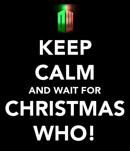 drwhowhereru:  60 DAYS UNTIL THE CHRISTMAS SPECIAL!