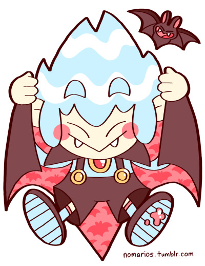 Kid Dracula, Game Boy Oh boy! Halloween is almost here! It's time to celebrate with some of the spookiest nomarios characters! Let me know if you have any requests! BUY A PRINT OF THIS CHARACTER!