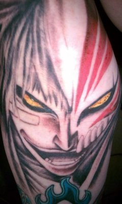 Hollow Ichigo Tattoo