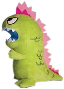 "Tokidoki Kaiju Plush to Softly Crush Cities The next few months are going to be awesome for tokidoki fans. First, we brought you word of the vinyl Cactus Piglet, Porcino. Now we've uncovered a photo of a plush Kaiju. It will be about 9"" tall and cost between $20 and $30. No word on if it shoots pink lasers out of its eyes or where it will be available, but I'd assume tokidoki.it as well as your favorite designer toy stores will carry it."