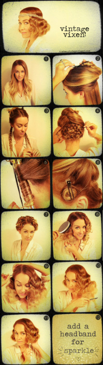 I think this is what I am going to do to my hair for Halloween. :)