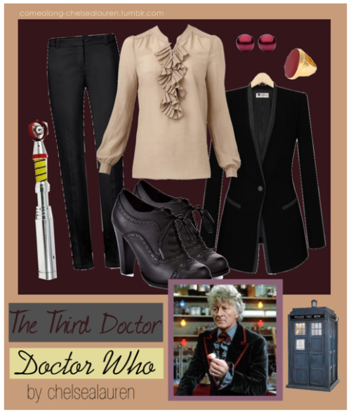 The Third Doctor | Doctor Who - Inspired by The Doctor himself! - Click here! by comealong-chelsealauren