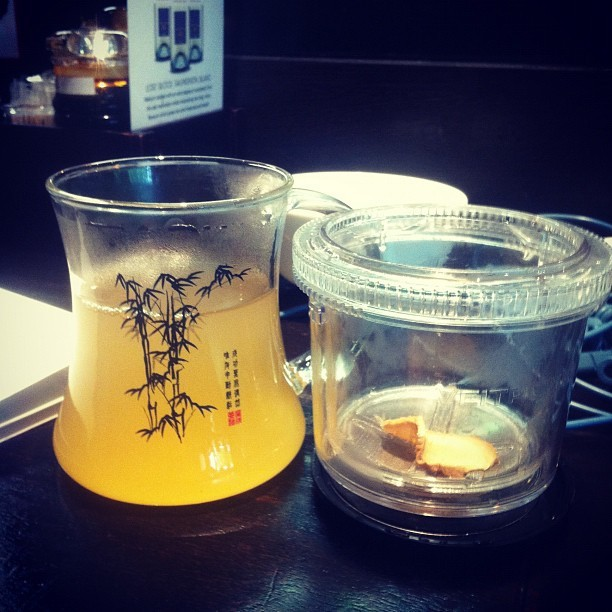 #byb #ginger #tea #chefsgallery  (Taken with instagram)