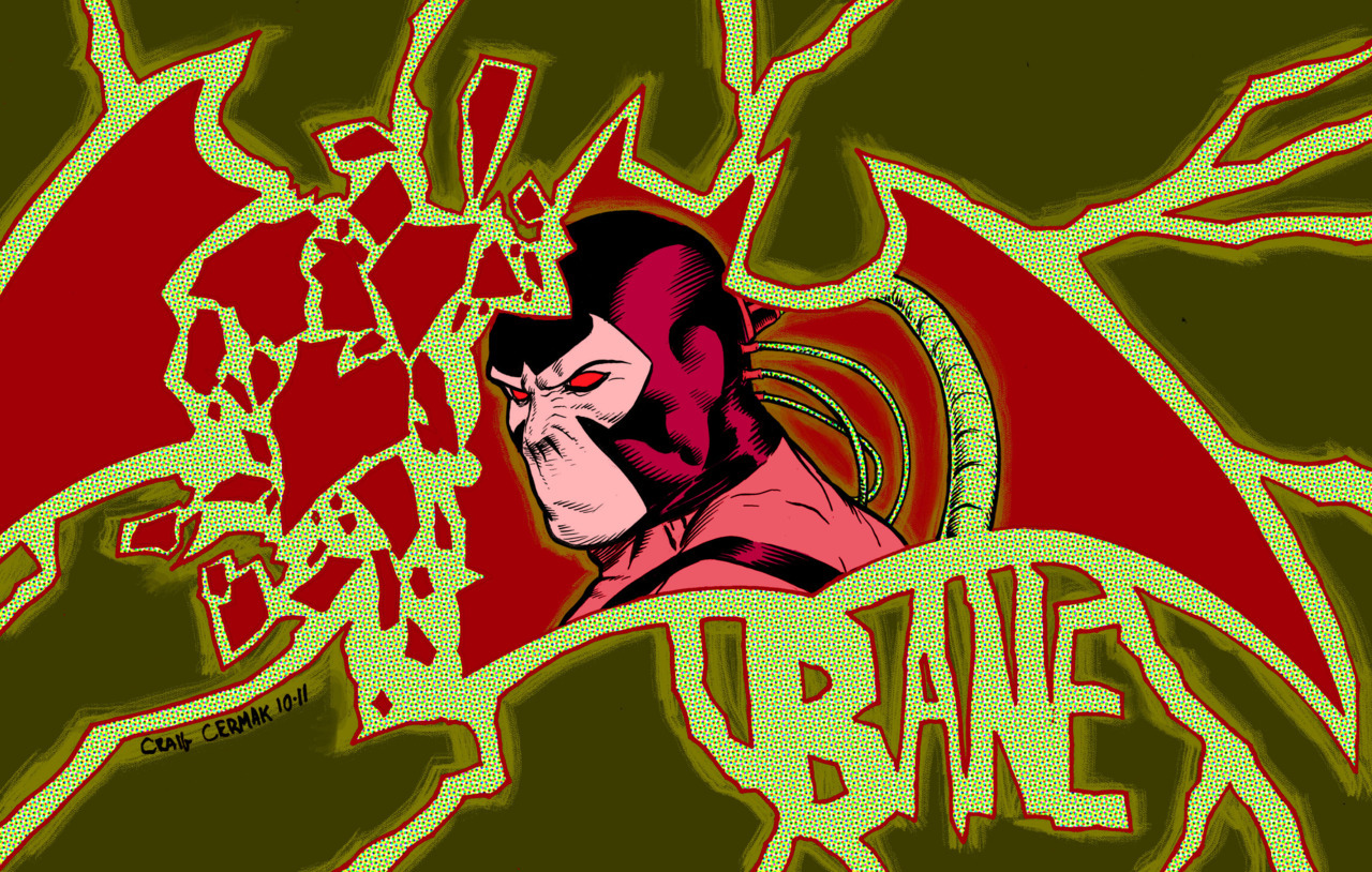 BANE, illustrated for this weeks sketchblog theme. Be sure to check out the others or follow the blog here: http://omegasketch.blogspot.com/ -Craig Cermak
