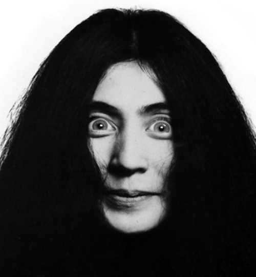 Yoko Ono with Michele Bachmann eyes.